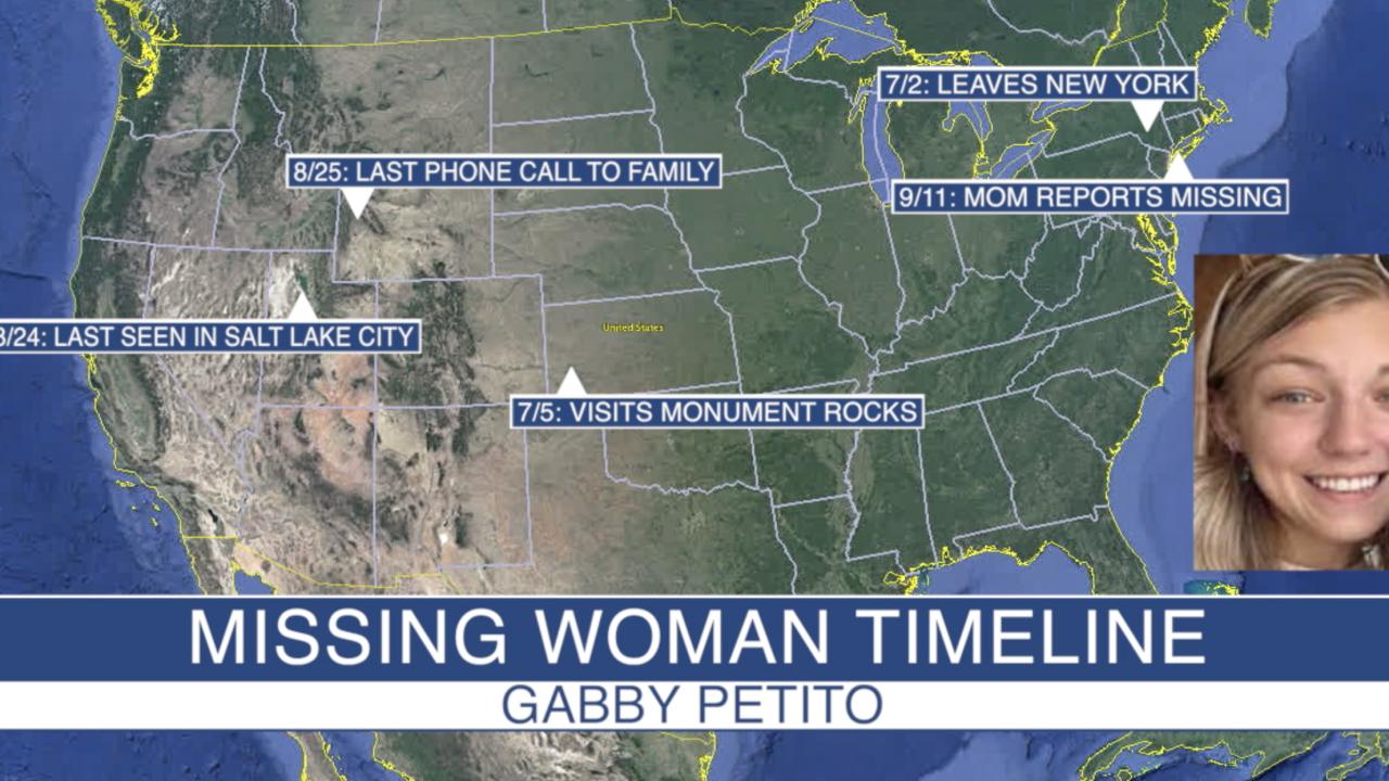 Gabby Petito Timeline