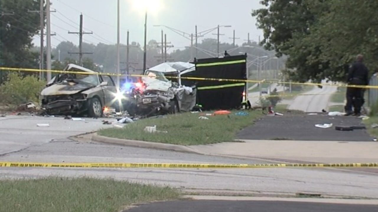 Witness says cars in double fatal crash were 'jockeying' each other
