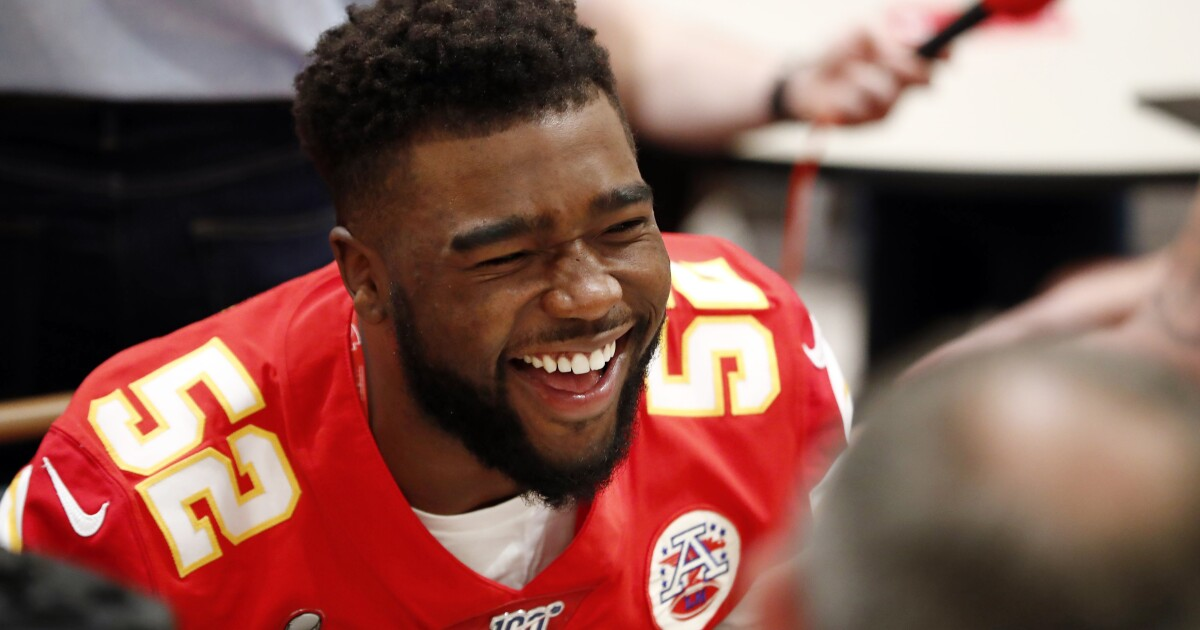 Chiefs' Demone Harris holding free camp and showcase for kids in grades 3-12 in Buffalo