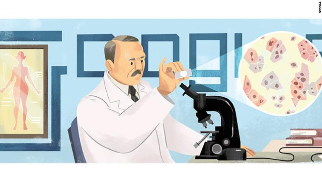 Google Doodle honors doctor's invention