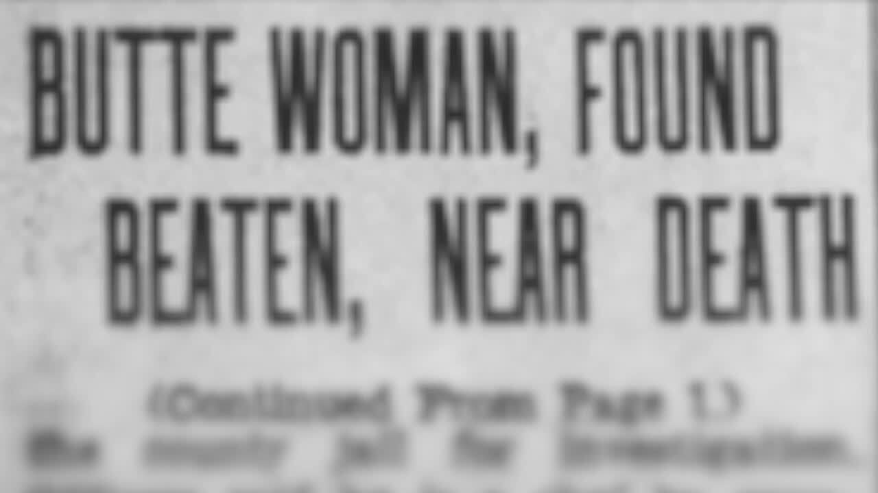 An 80-year-old unsolved murder in Butte - and a family secret unravels