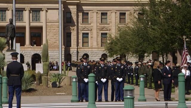 Sen. John McCain memorial events in Phoenix