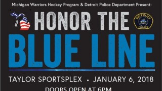 Michigan Warriors, DPD hockey to play in charity hockey game for Dep. Eric Overall