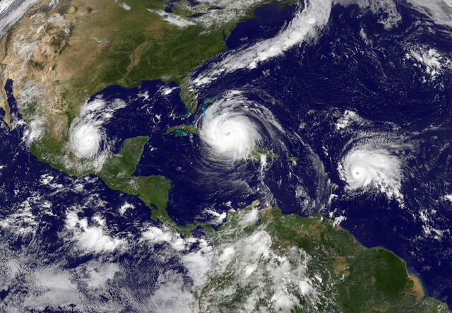 Satellite images from the 2017 Hurricane season