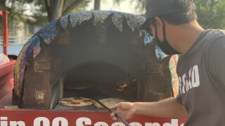 SToKD Pizza serves fresh, fire-baked pizza to family shelter