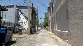 Murals painted over