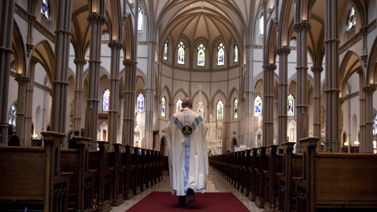 Court sides with 11 priests in Pennsylvania abuse report and won't release their names