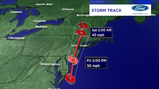 Tracking Tropical Storm Fay