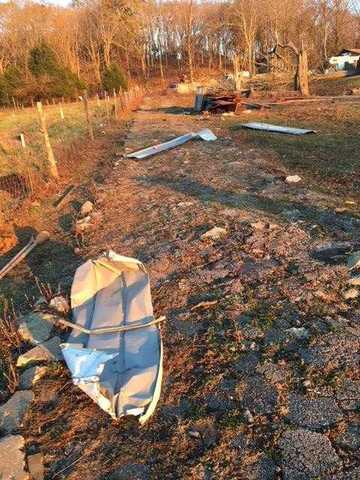 Photos: Damage Reported In Trousdale County