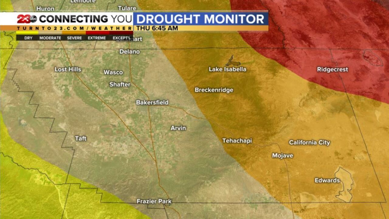 Drought Monitor Report February 25, 2021