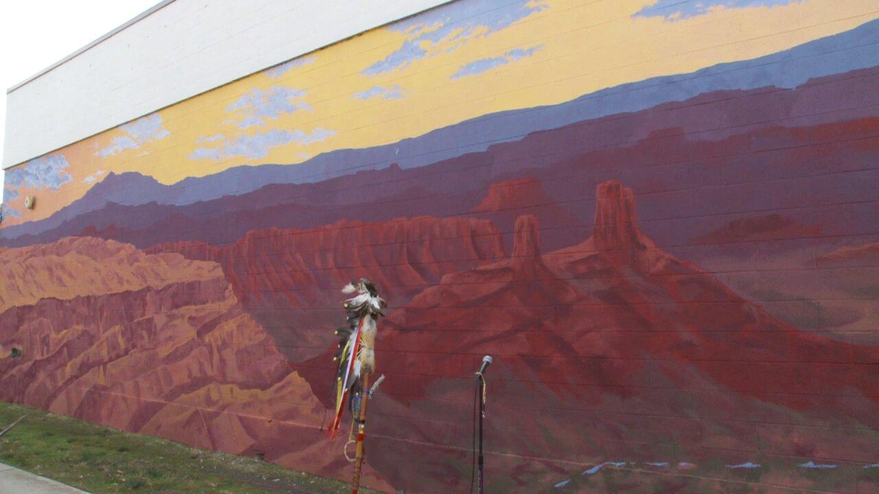 'Bears Ears' mural unveiled in Salt Lake City's GranaryDistrict