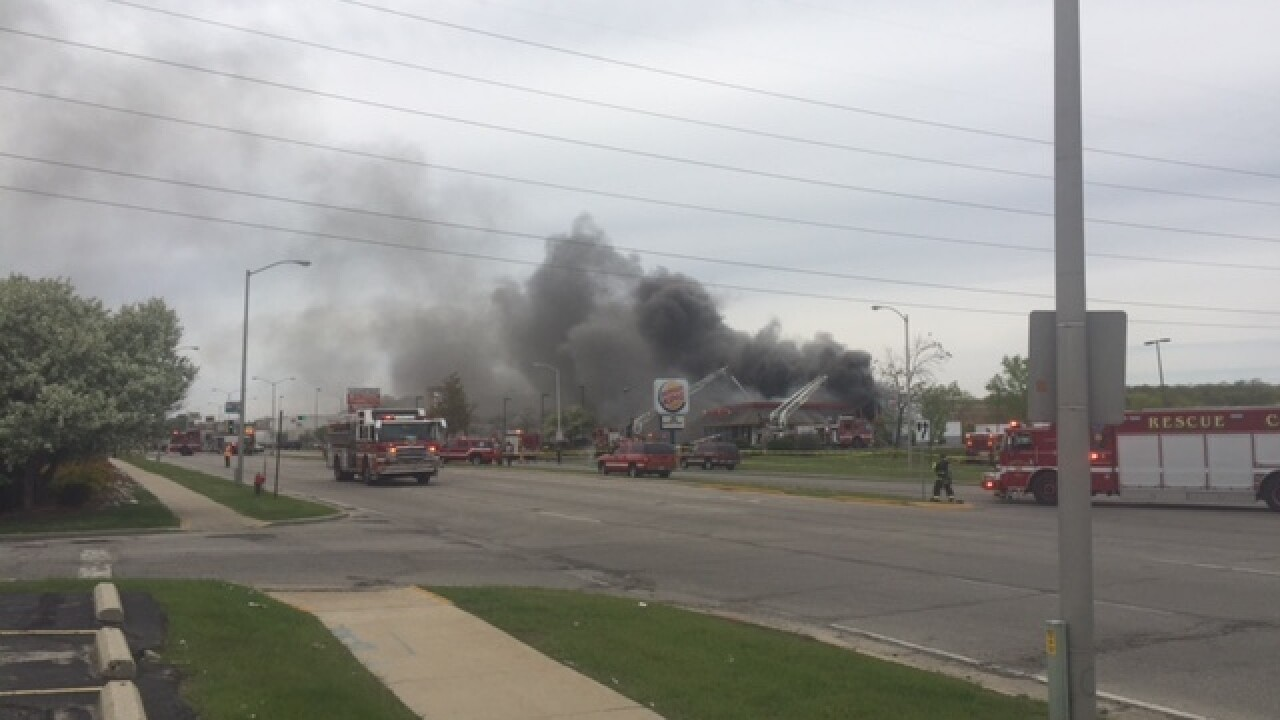 Milwaukee Fire Dept. responds to Burger King