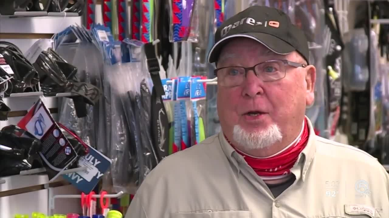 Skip Commagere, owner of Force-E Scuba Centers