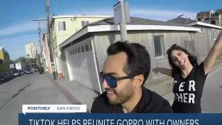 Positively San Diego: Tiktok helps owners reunite with missing GoPro