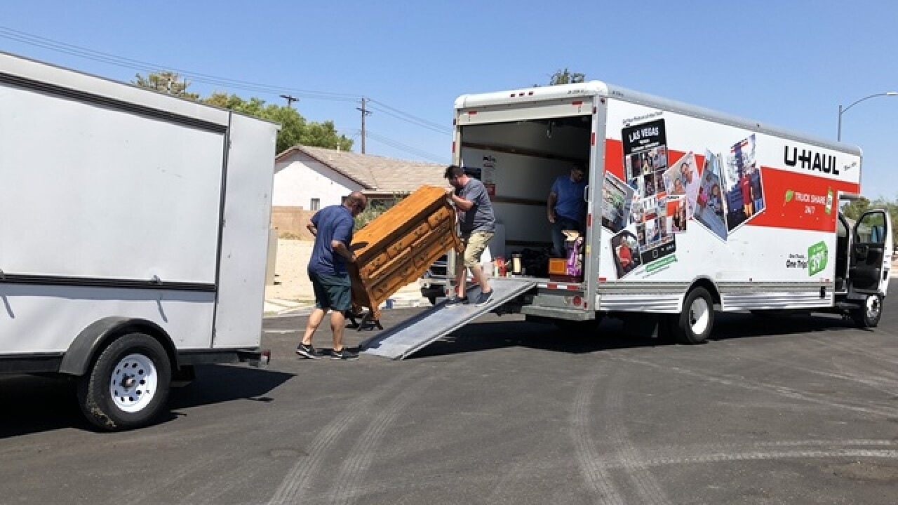 LVMPD helps elderly couple retrieve stolen items