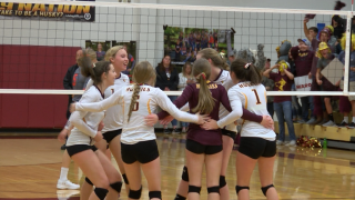 Northern C divisional volleyball: Belt takes down Chinook, advances to title game