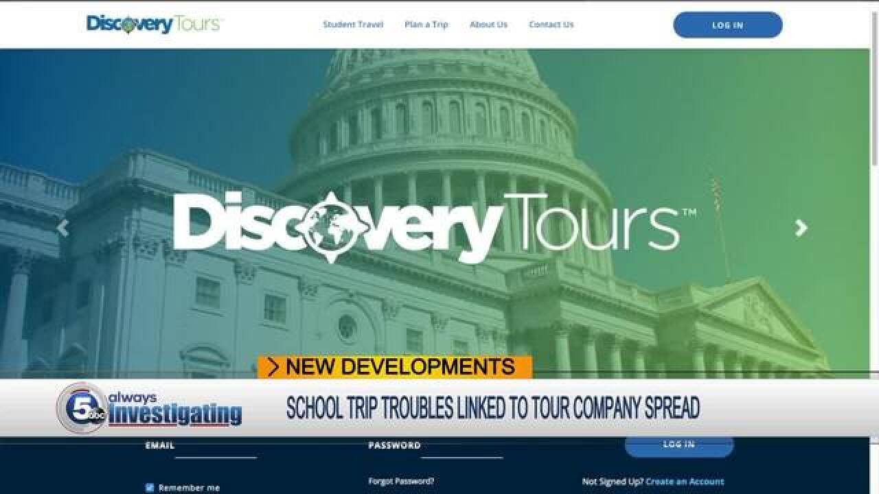 Discovery Tours offices empty following scandal