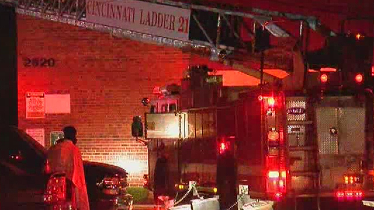 Candle prompts Westwood apartment fire