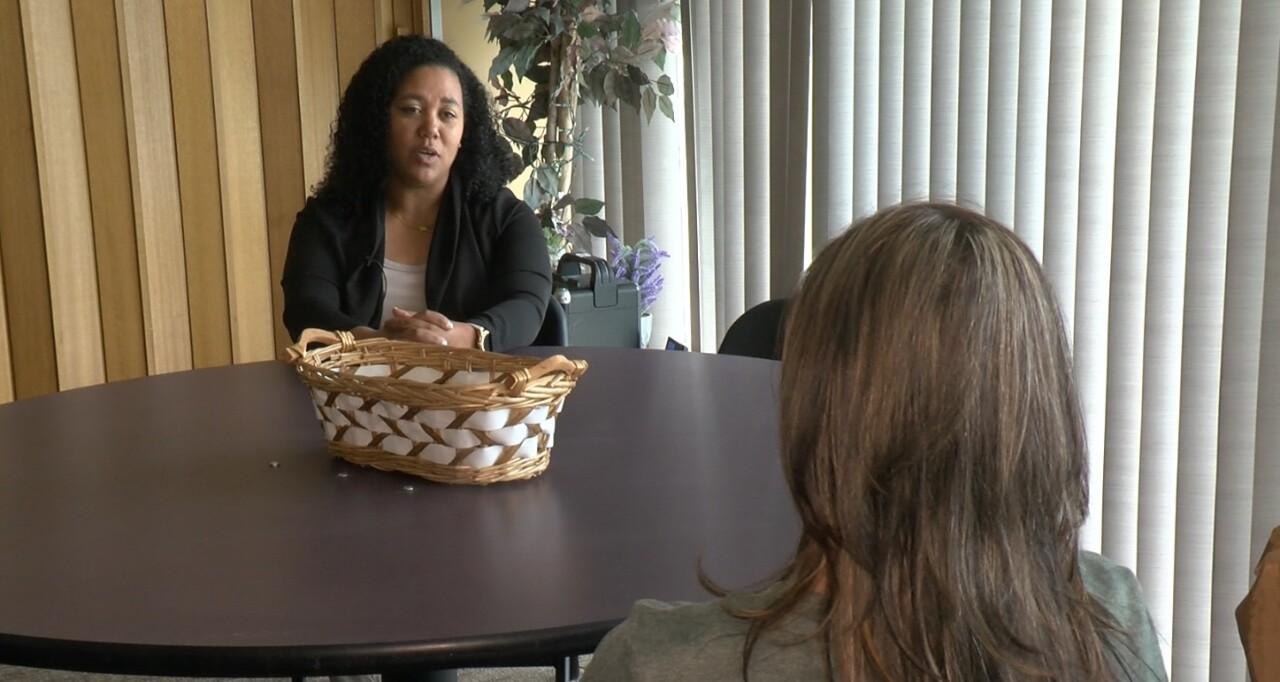Survivor Melissa Hall speaks with News 5's Elizabeth Watts