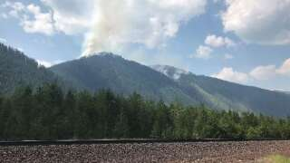 Evacuation warning issued for wildfire near Essex
