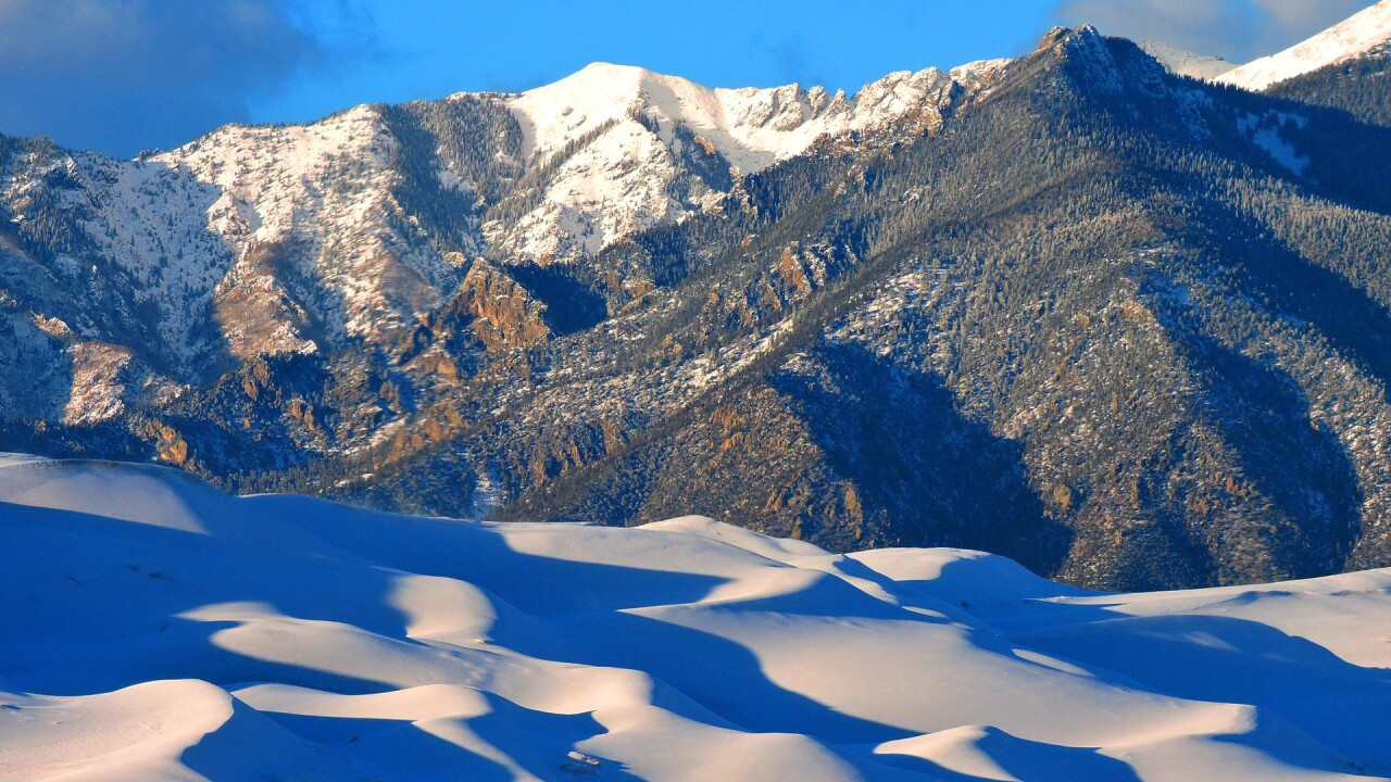 Snow on the Great Sand Dunes National Park and Preserve in Winter.jpg