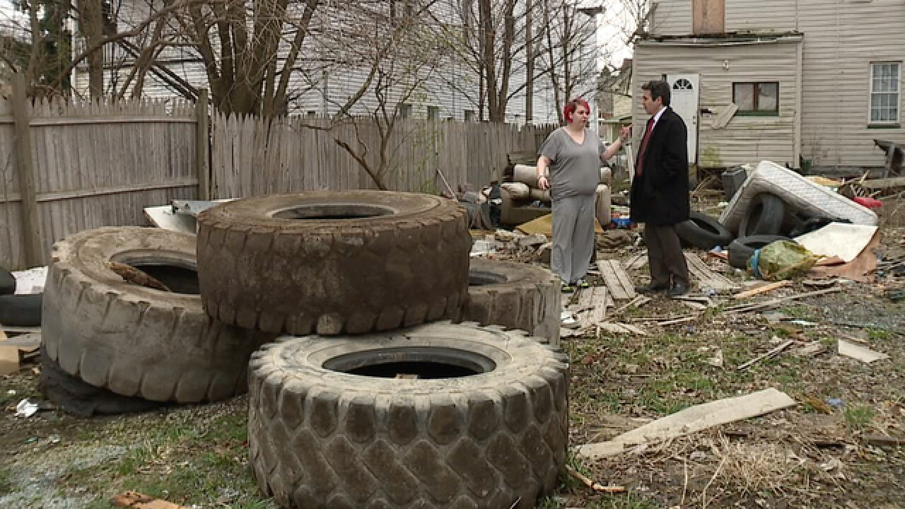 West CLE residents report illegal dumping growth