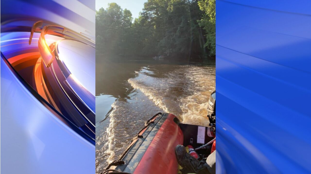 Body found believed to be fisherman who fell into Nottoway River in Courtland
