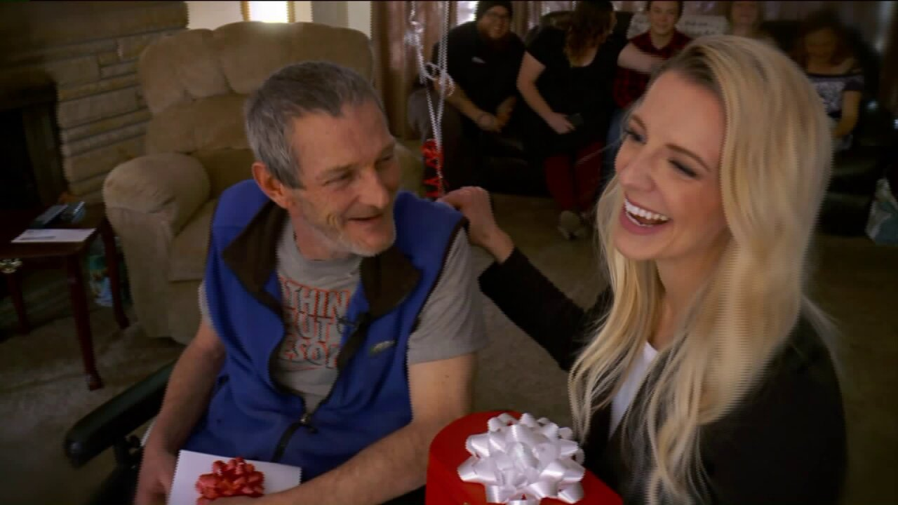 Fox 13 Dream Team surprises father of 5 with life-changing gift