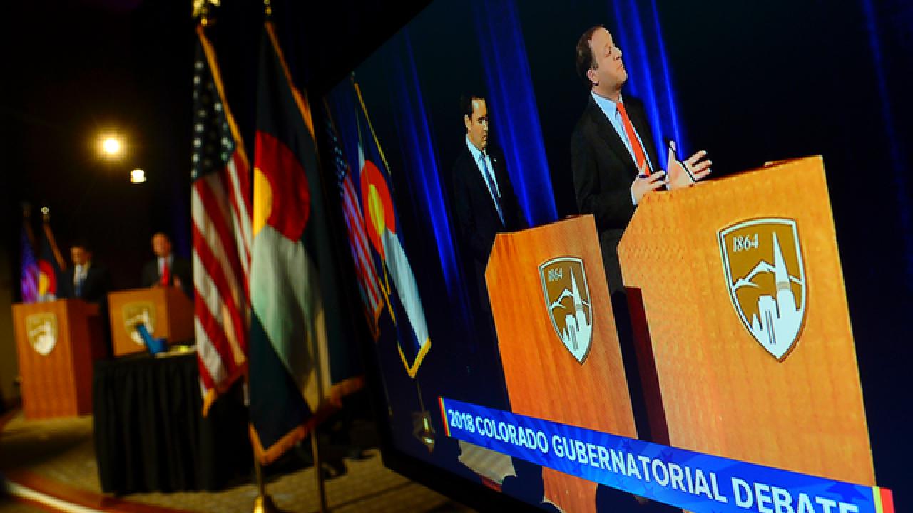Live blog: Polis, Stapleton square off in debate