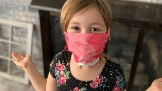 Making masks for first responders