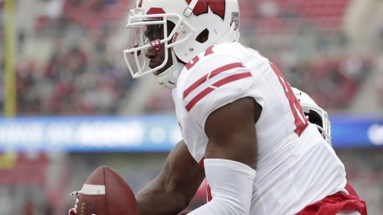 Police detail assault case against Wisconsin WR