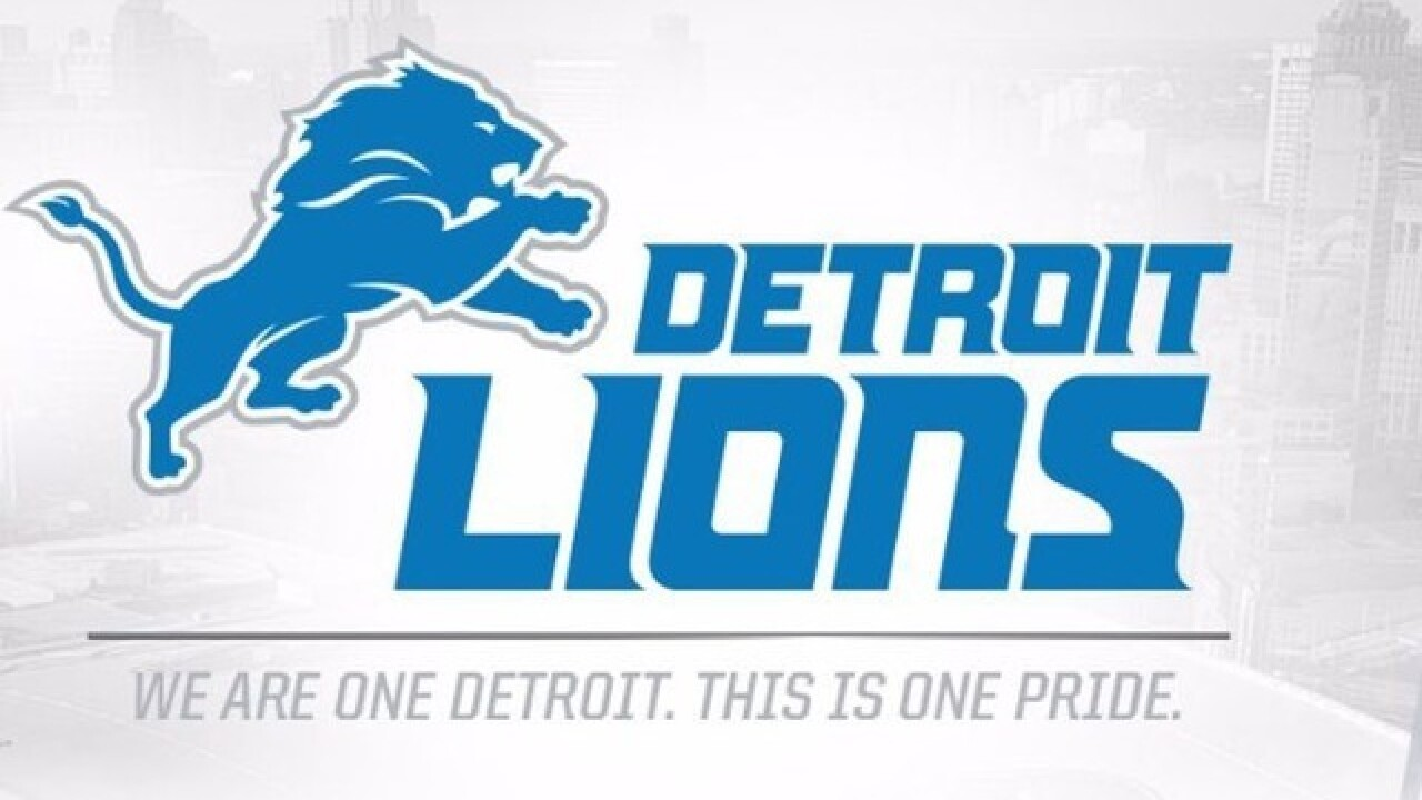 Detroit Lions to unveil new uniforms today