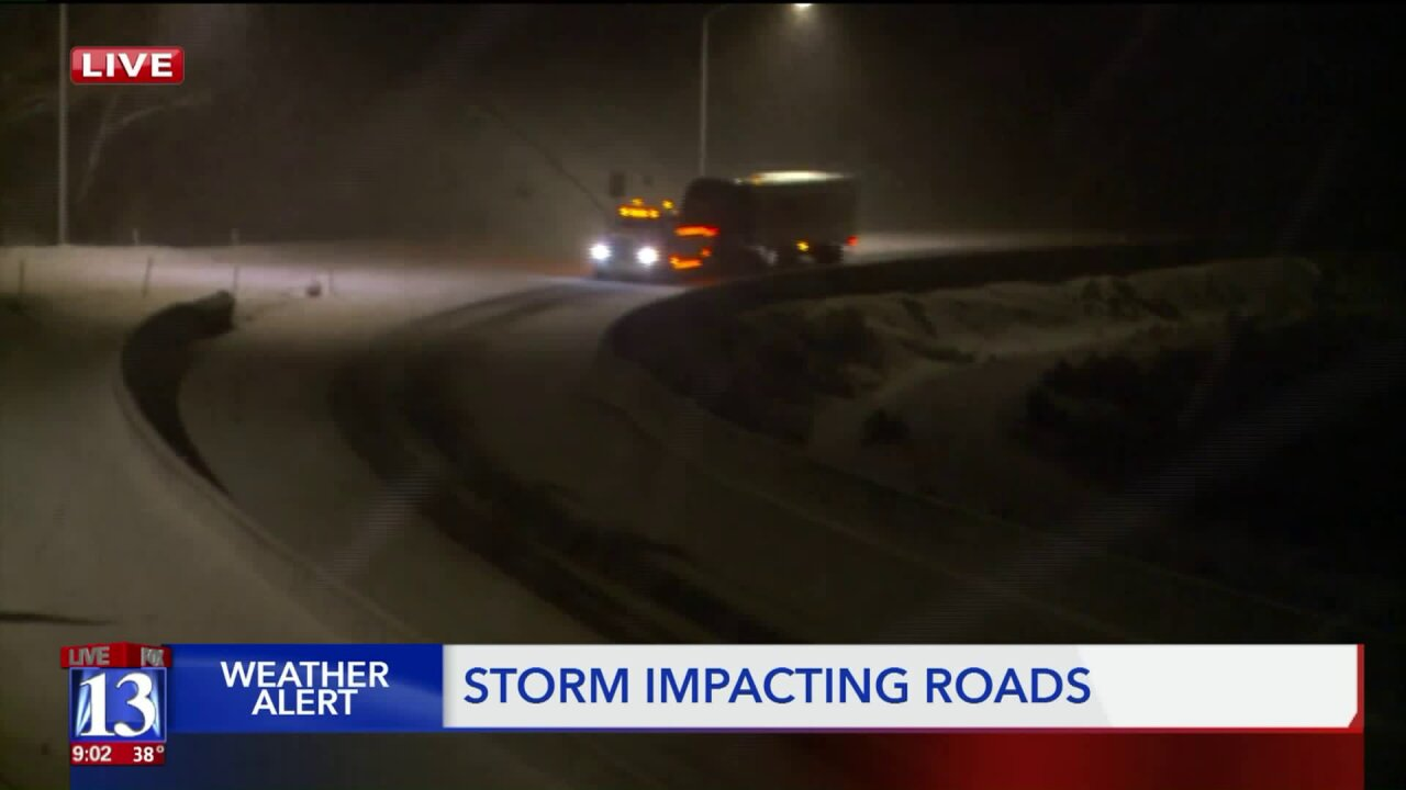 Snow causes tricky conditions in SummitCounty