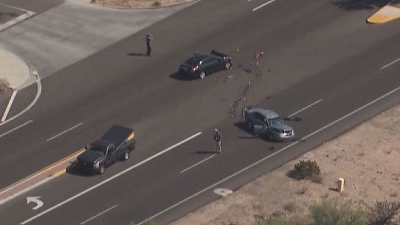 PD: Officer 'critical' after crash in Cave Creek