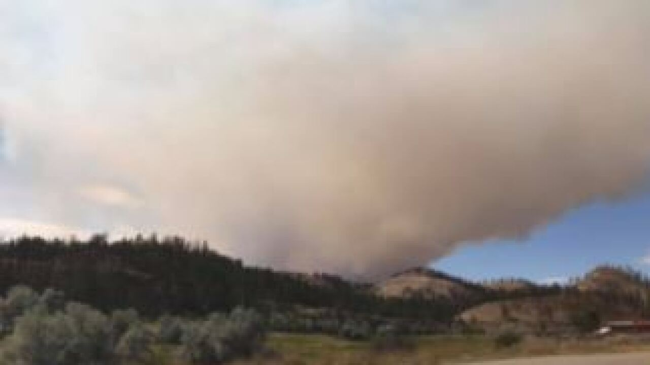 Sarpy fire burns 10,000 acres in Big Horn County