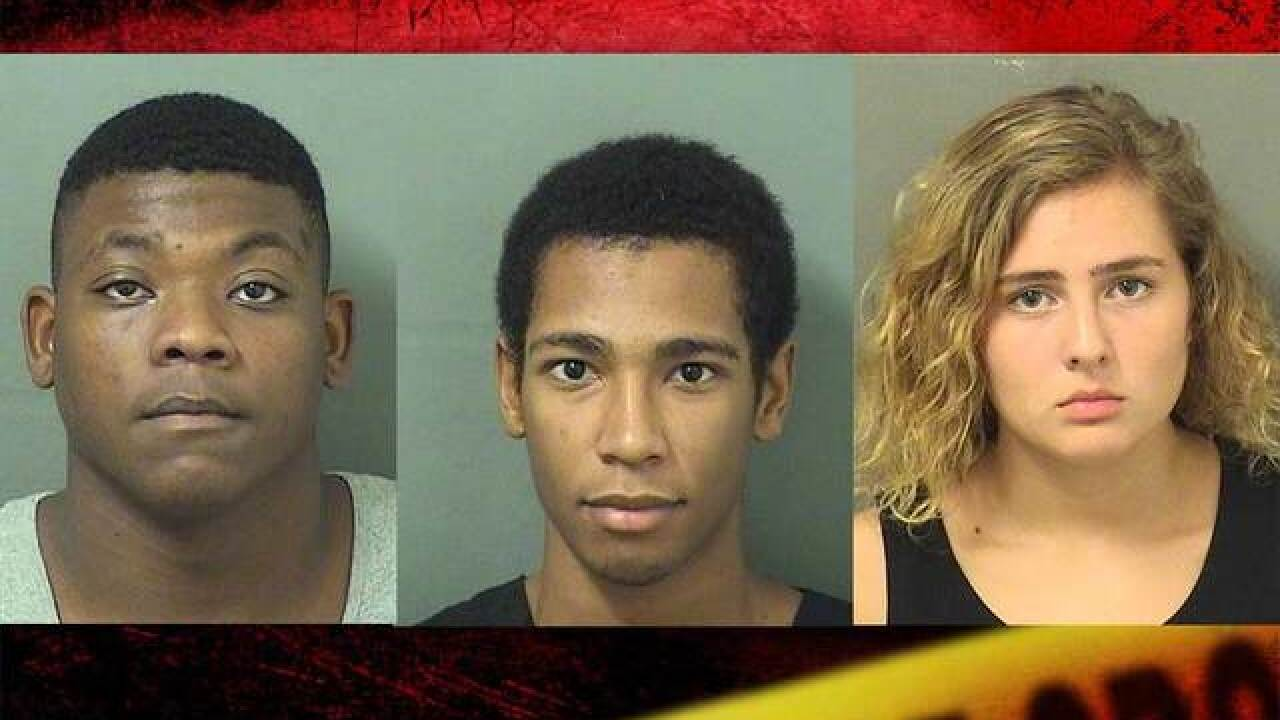 Teen girl, 2 men charged in MMA fighter's homicide