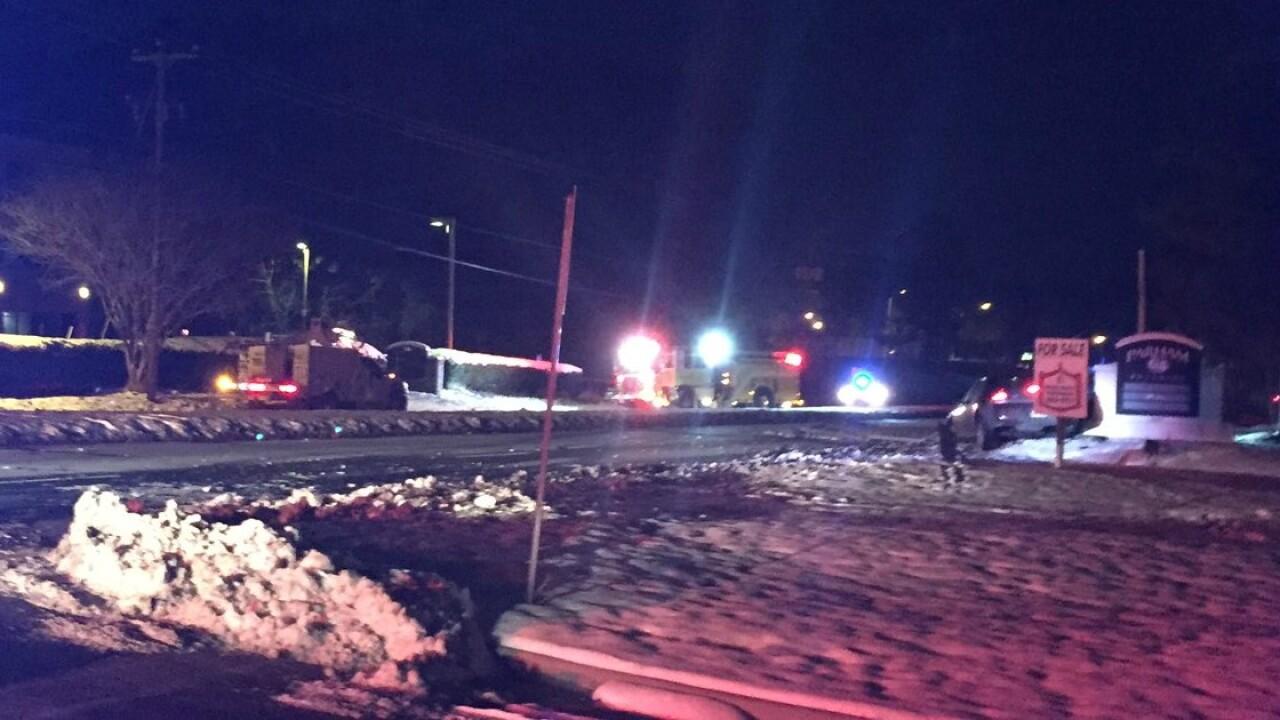 Crash near Tucker High School blocks ParhamRoad