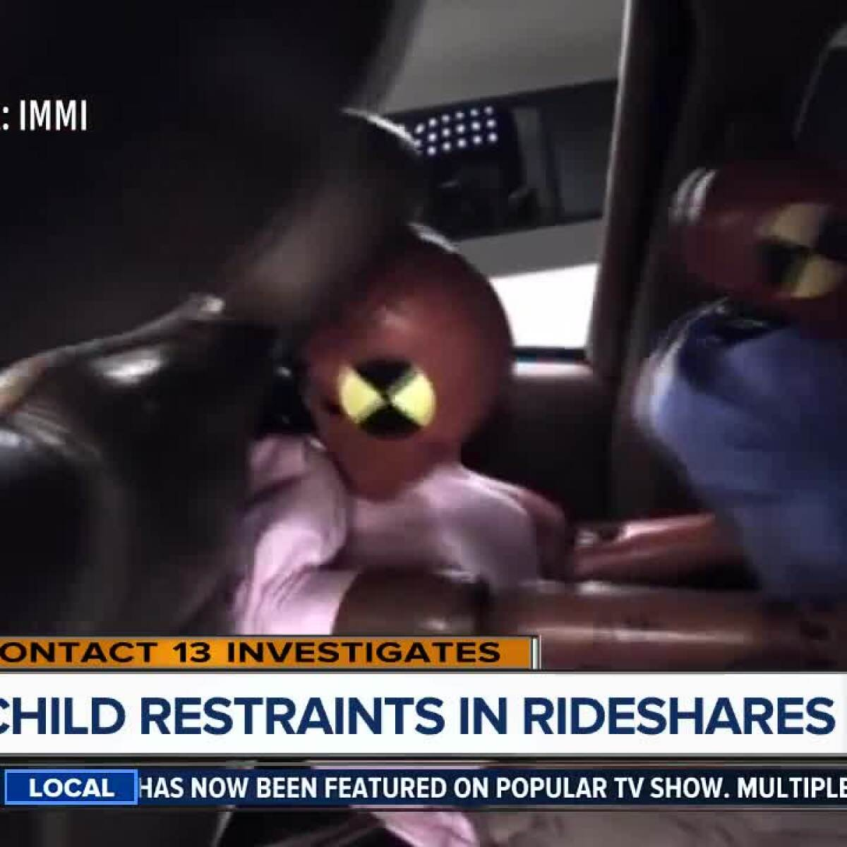 Undercover Video Exposes Child Restraint Exemption For Rideshare Companies In Nevada
