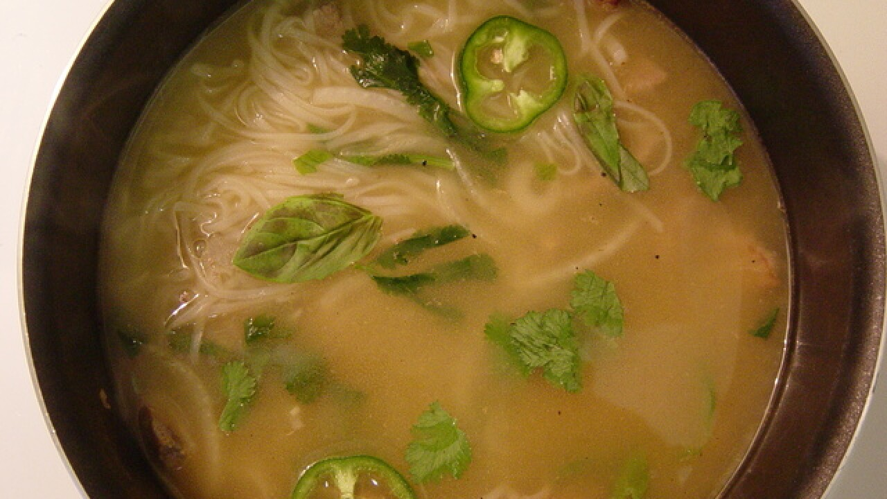 Vietnamese pho most popular food item ordered during Oscars