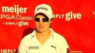 Leona Maguire leads Meijer LPGA Classic