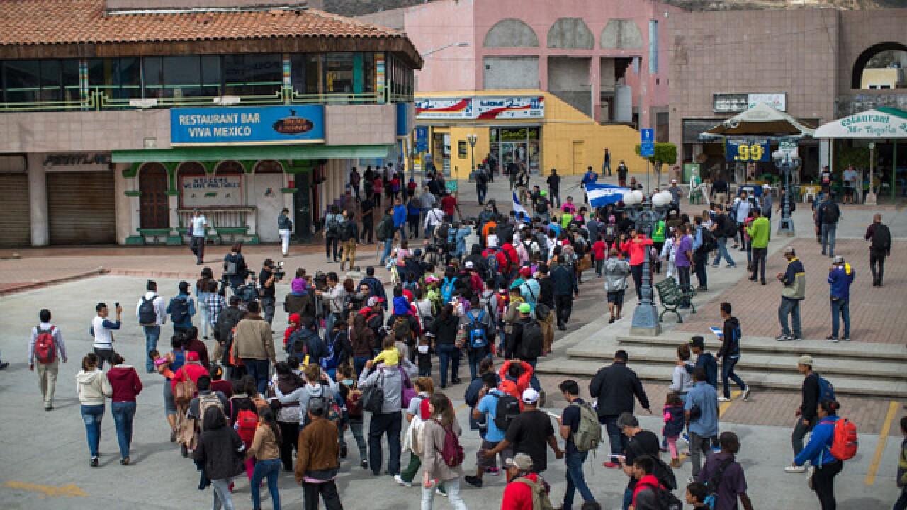 Migrants turned away at US-Mexico border