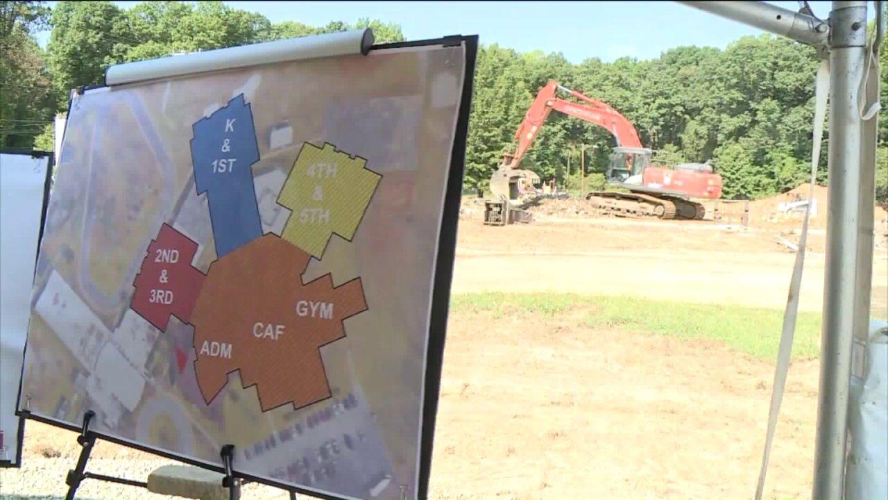 Chesterfield schools break ground on new CrestwoodElementary
