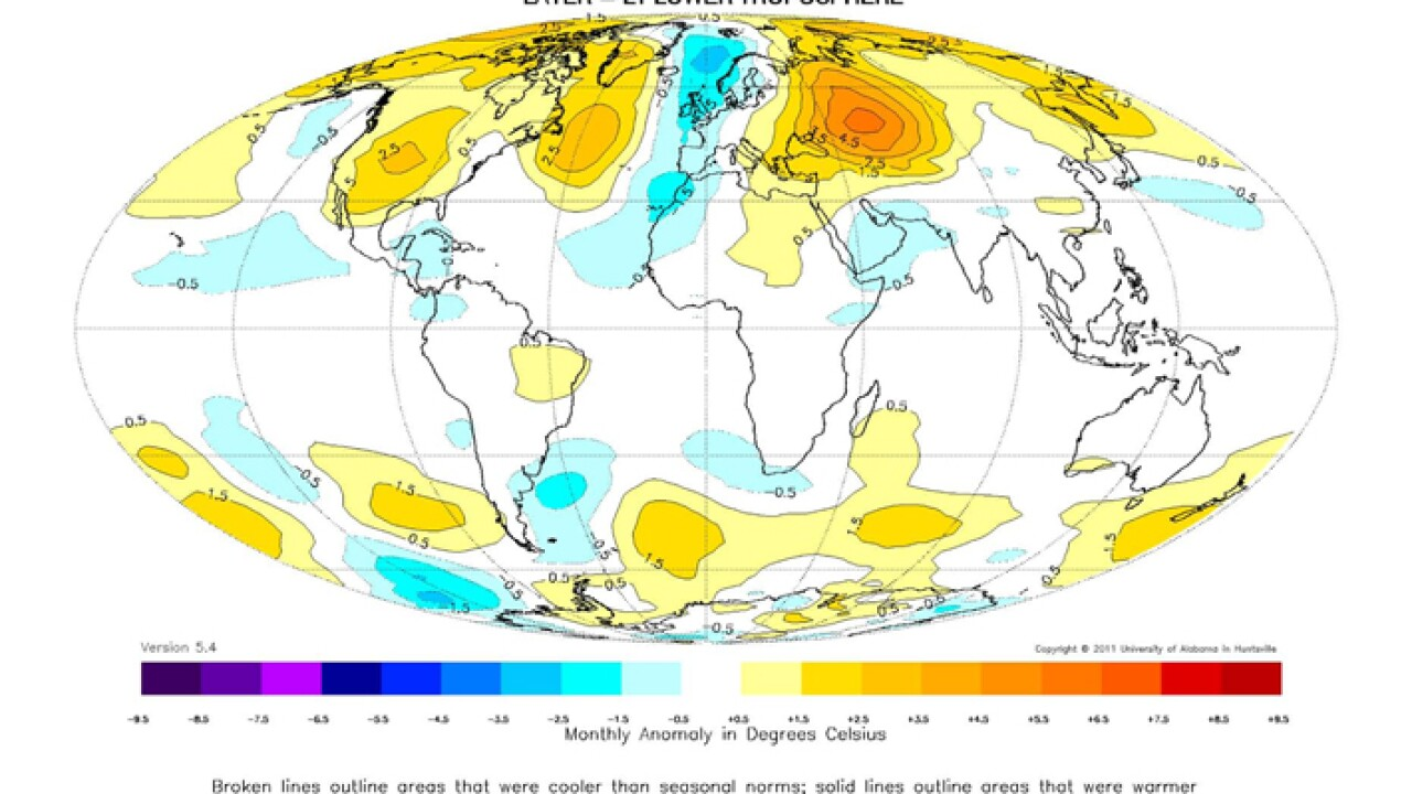 April 2012 Global Temperature Report
