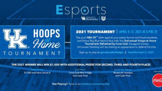 Hoops at Home infographic