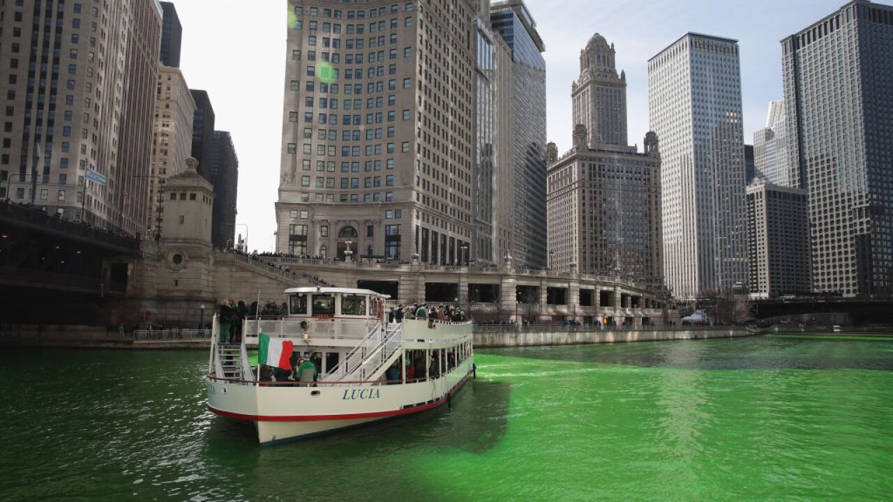 Meet the man who dyes the Chicago River green for St. Patrick's Day