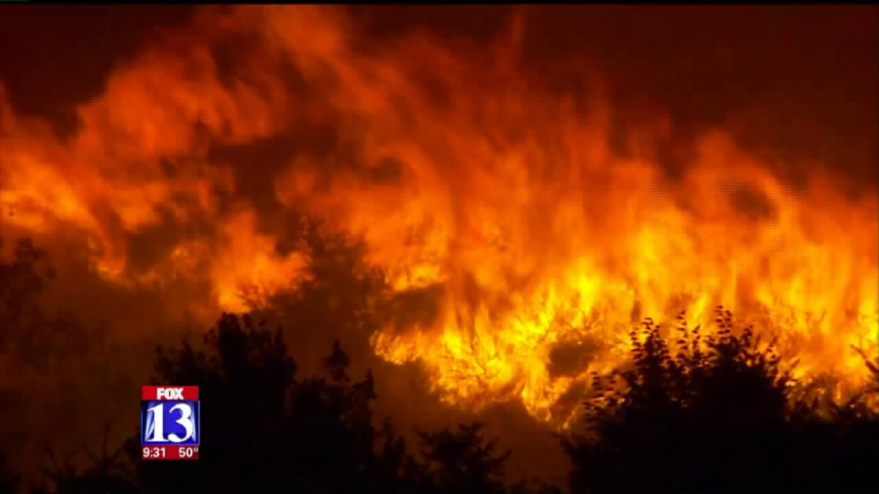 Firefighters use simulation technology to prepare for wildfire season inUtah