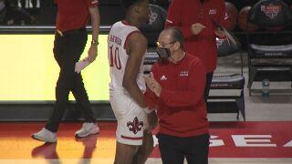 Bob Marlin Louisiana Men's Basketball 2021