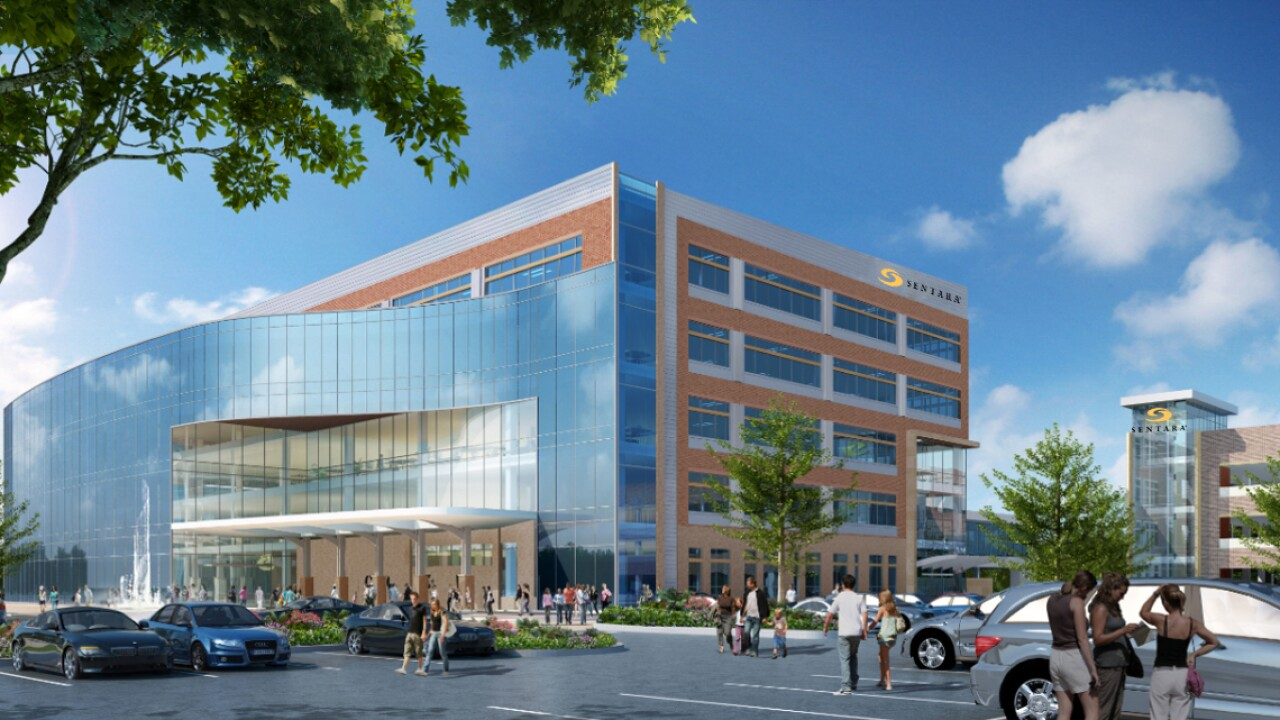Sentara Healthcare to build $93.5 million cancer center in Norfolk