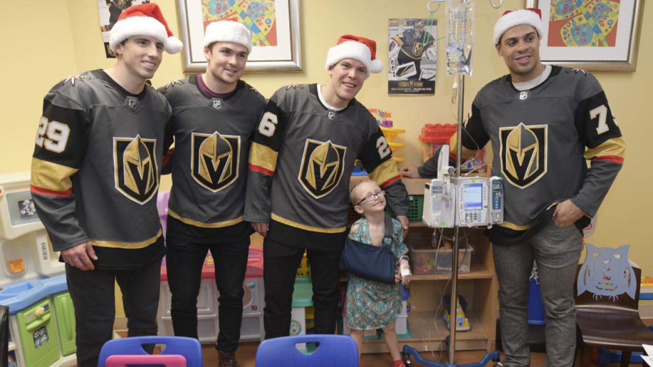 Vegas Golden Knights Visit Summerlin Hospital