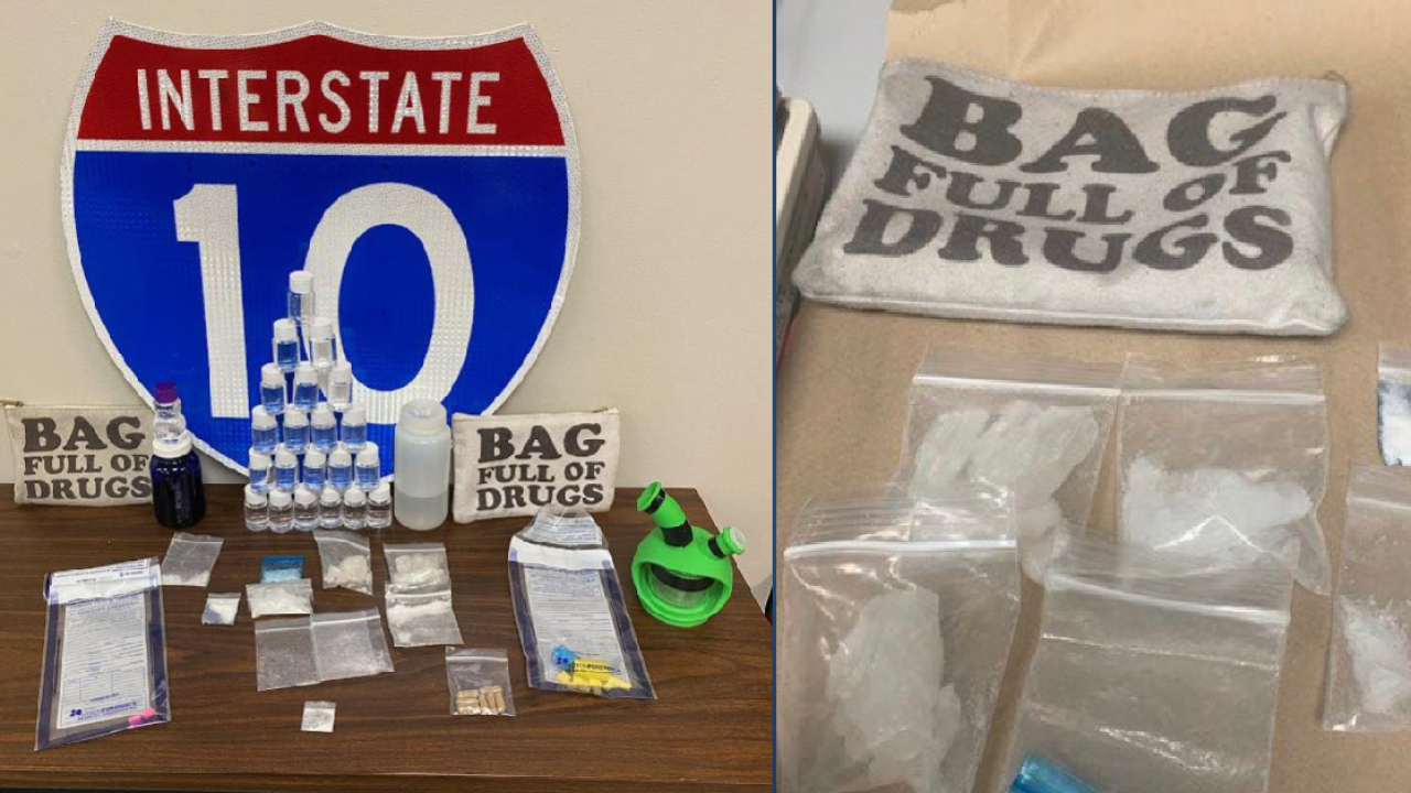 Florida troopers find drugs in bag labeled 'Bag Full of Drugs'